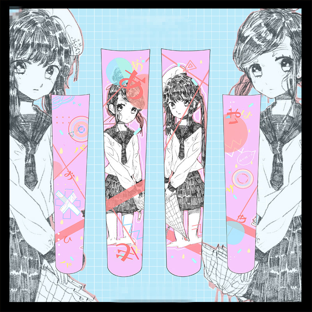 Anime knee socks YC21753