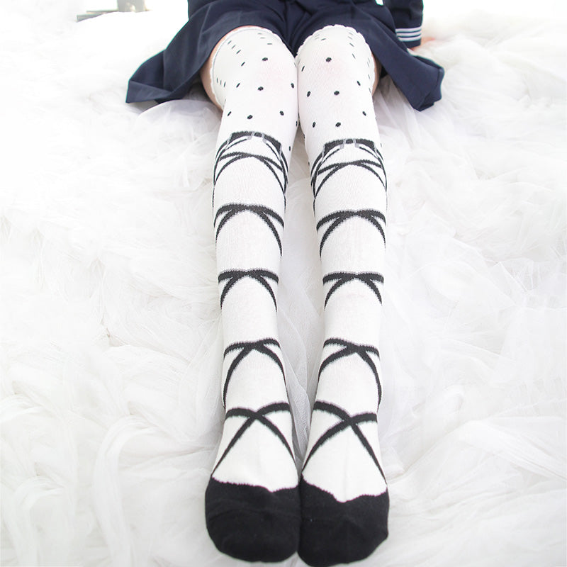 Lolita cos socks YC20463