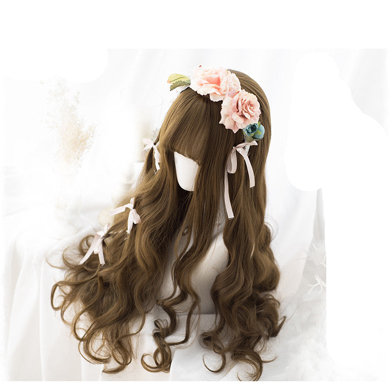 Lolita cos long curly hair wig yc20504
