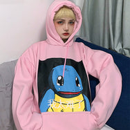 Ulzzang cartoon hooded sweater yc22271
