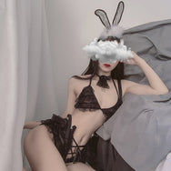 Sexy bunny lace suspender lingerie yc22446