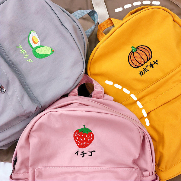 Japanese style college cute backpack yc23351