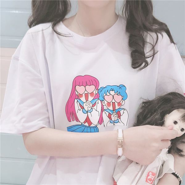 SAILOR MOON cos T-shirt YC21596