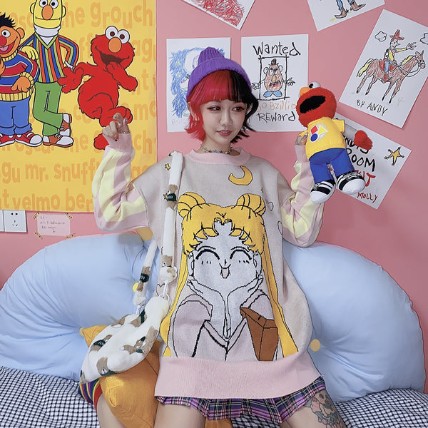 Sailor Moon cos Sweater yc22361