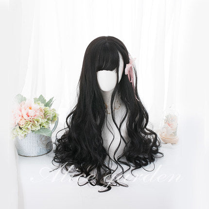Lolita cos long curly hair wig YC20327