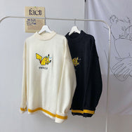 Autumn Pikachu Embroidered Sweater YC22122