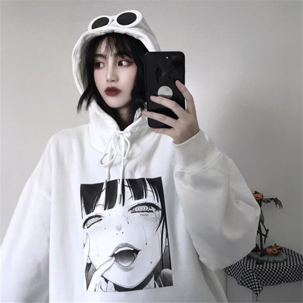 Cartoon hooded sweater yc22315