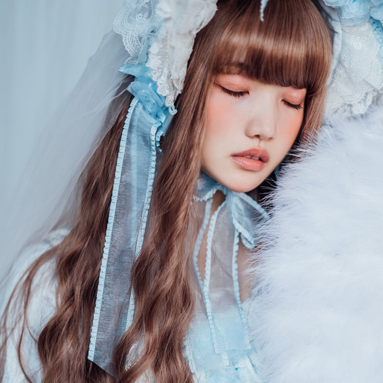 Lolita water grain wig  YC21390