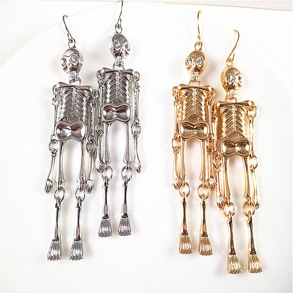 Halloween Human Bone Earrings YC22066