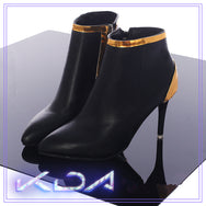 League Of Legends KDA Ahri Kaisa Cosplay Shoes yc21169
