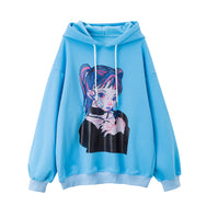Cute Girl Hooded Sweater yc22603