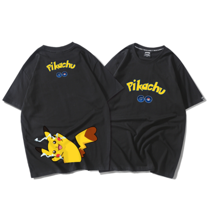 Pikachu lovers short-sleeved T-shirt  YC21337