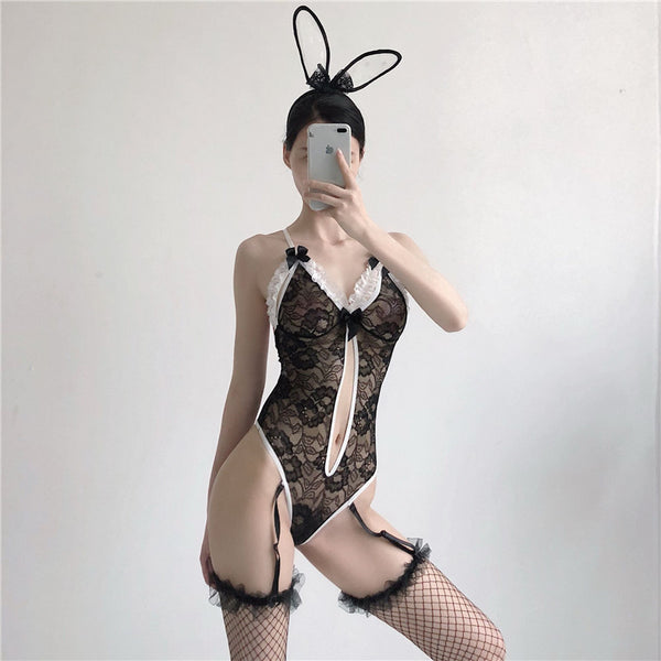 Sexy rabbit uniform underwear yc22284