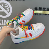 Kim Hyun A with the same paragraph Rainbow shoes YC21976