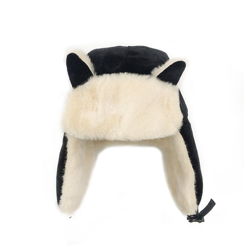Cute cat ears warm hat yc22504