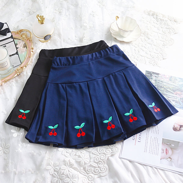 Lolita Cherry Skirt     YC21489