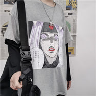 NARUTO anime fake two-piece T-shirt yc22330