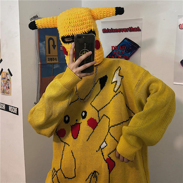 Pocket Monster pikachu cos Sweater yc22321