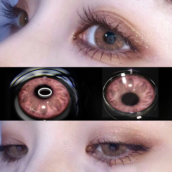 Masonry Pink CONTACT LENS (TWO PIECES) yc23774
