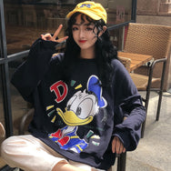 """Don"" Donald Fauntleroy Duck cos Sweatshirt YC21954"