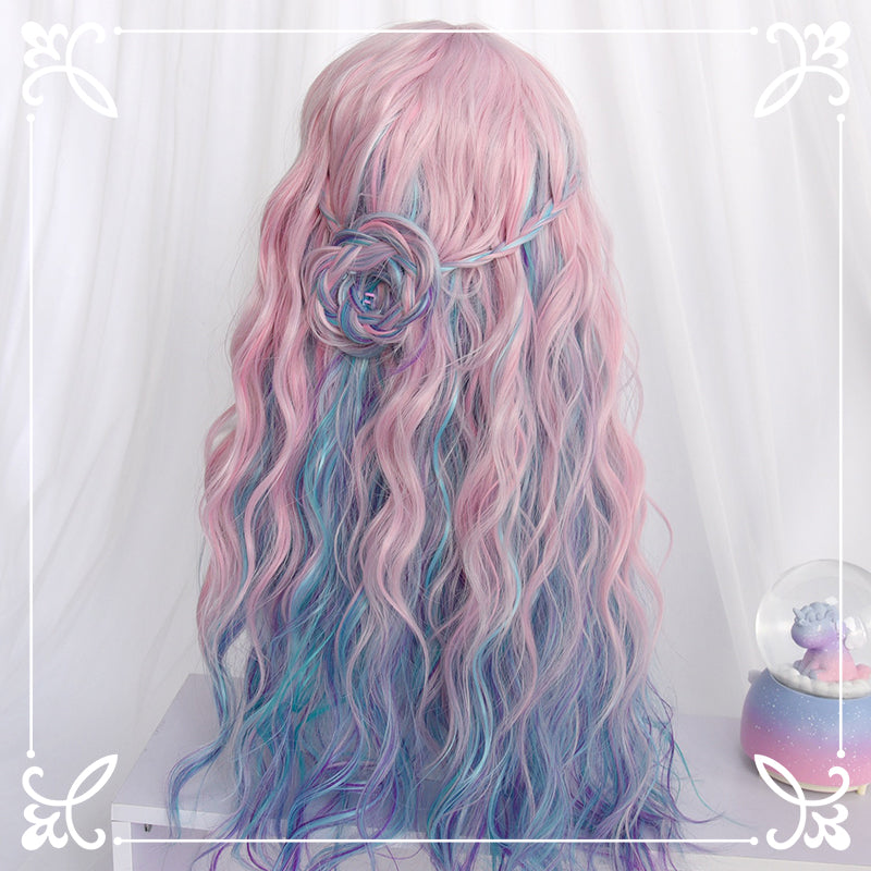 Lolita Dream Unicorn Mixed Color Wig YC21638