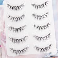 Net red cross false eyelashes  YC21231