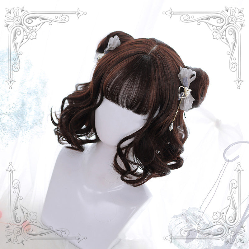 Lolita air bangs wig      YC21300
