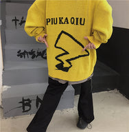 PIKACHU knitted sweater yc22402