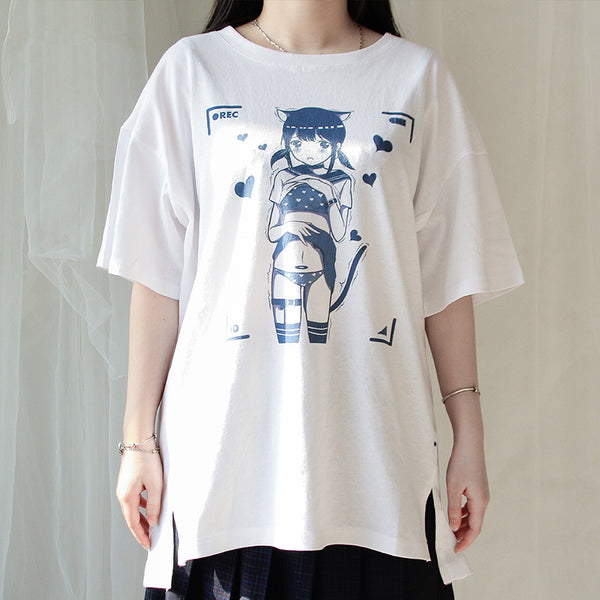Japanese anime T-shirt yc22323