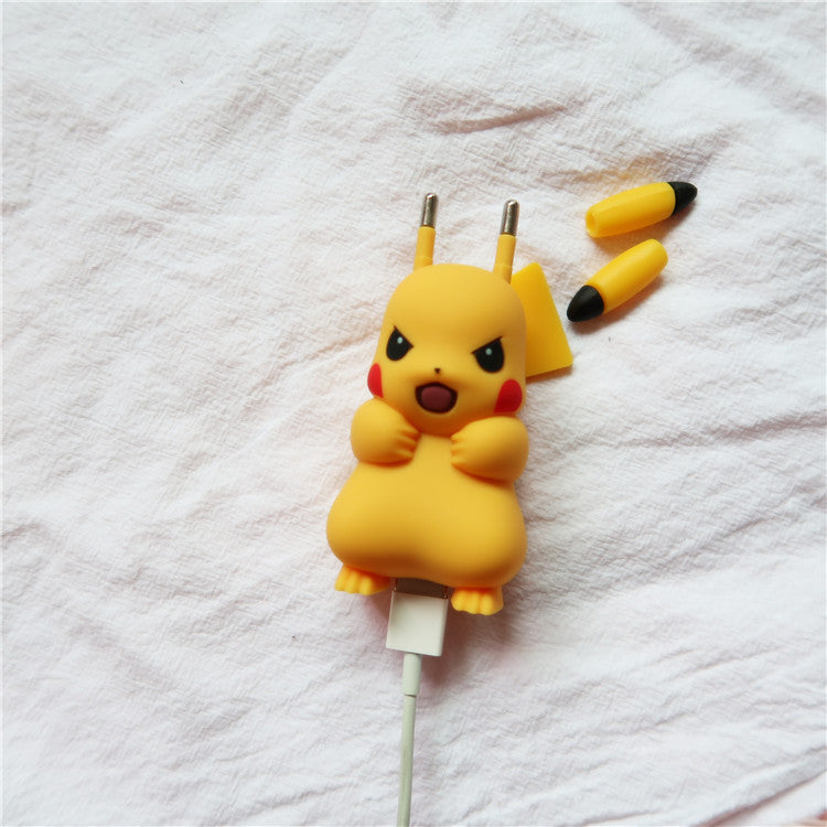 Pikachu cos mobile phone charging head YC21855