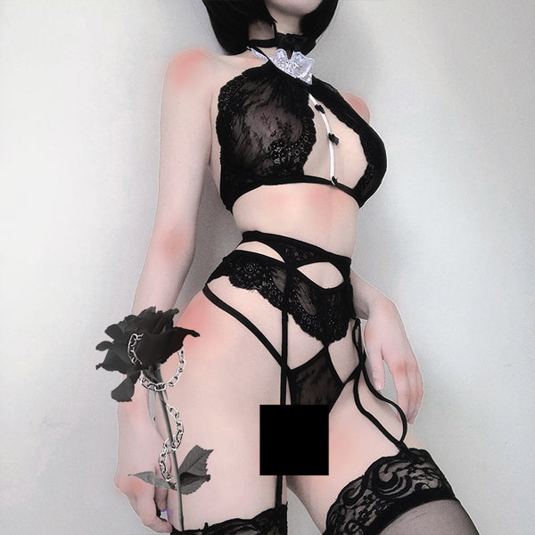 Three-point sexy lingerie set YC21994