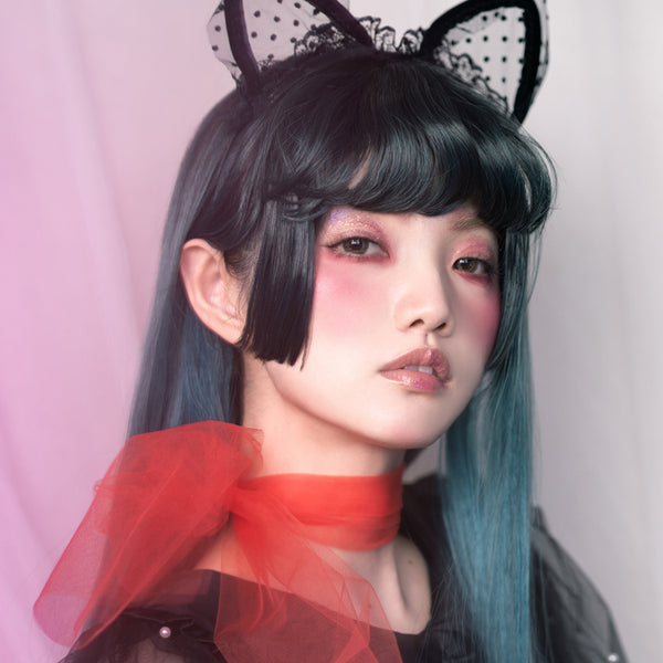 lolita mixed color gradient wig    YC21414