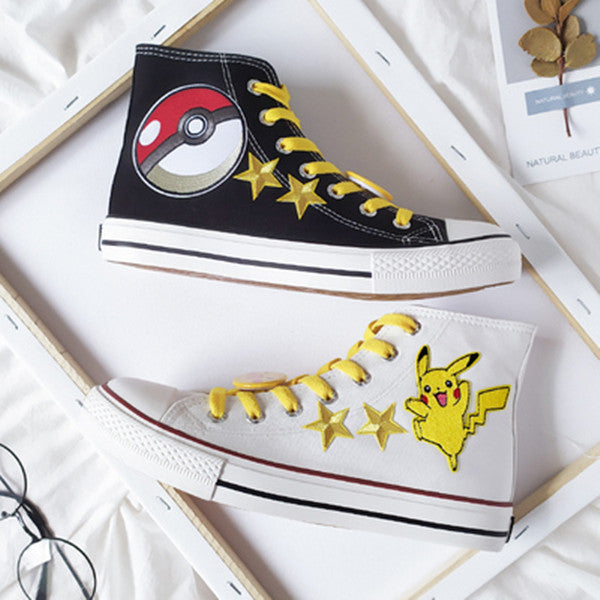 Pikachu cos hand painted shoes YC22000