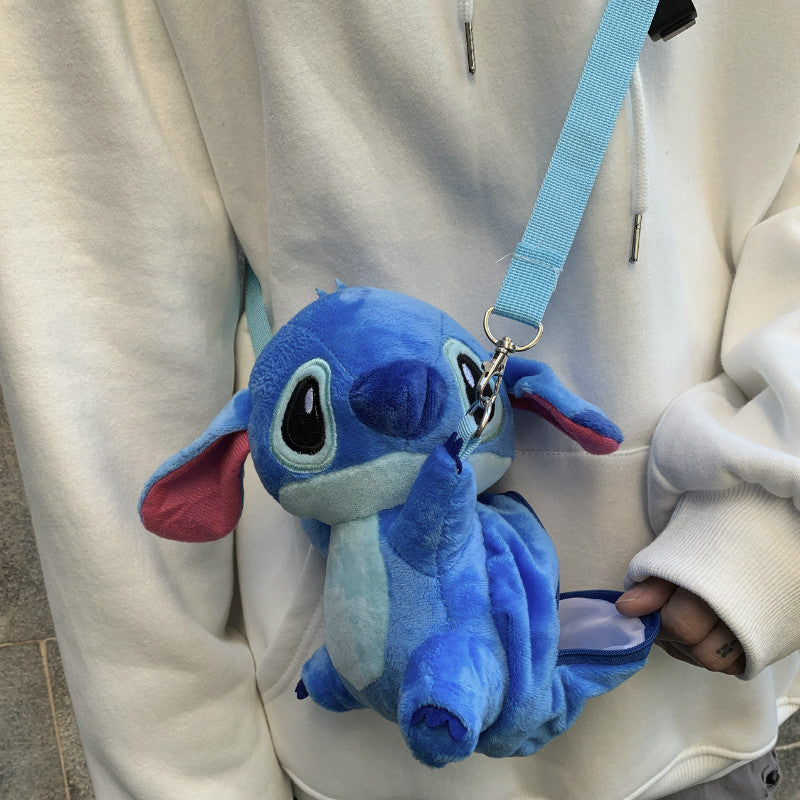 Stitch Plush Doll Crossbody Bag yc22508