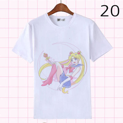 Lolita Sailor Moon Secondary Sleeve T-Shirt   YC21386