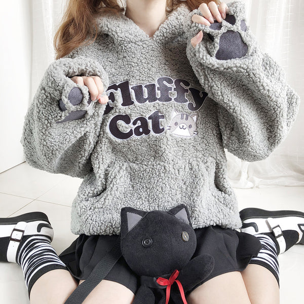 Cat claw thick sweater YC22100