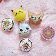 Pikachu cos contact lens case YC21854