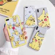 Pikachu cos Mobile phone shell YC21980