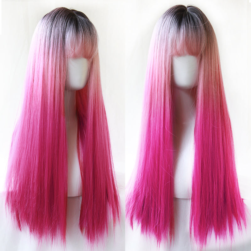 Lolita three-stage gradient wig YC21522