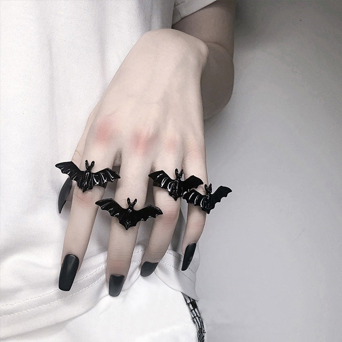 Goth Bat Ring yc22599