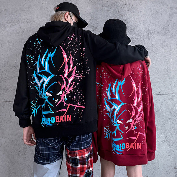 WuKong printing couple sweater YC22130