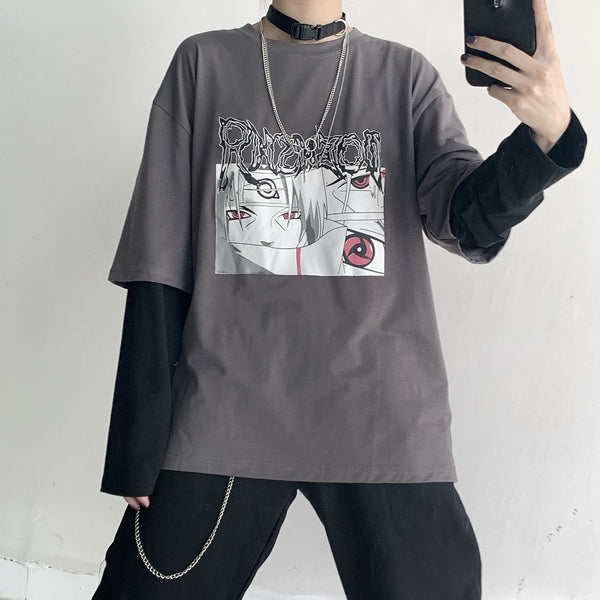 Naruto cos fake two-piece T-shirt YC21960