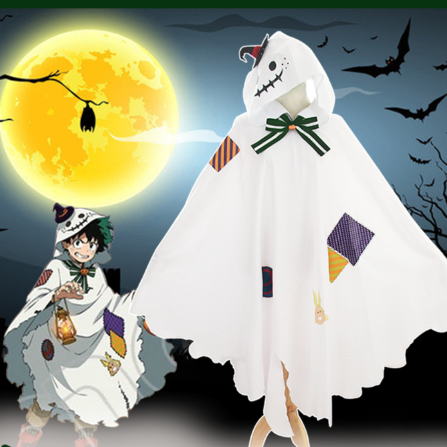 My Hero College Halloween Cloak Cosplay Costume YC20075