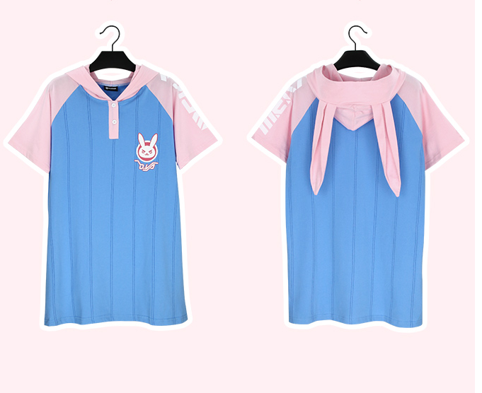 Overwatch D.VA Rabbit Dress YC20081
