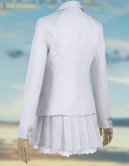 Jedi Survival Small White Dress Cosplay Clothes YC20110