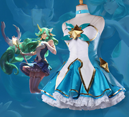 LOL Soraka Cosplay Star Guardian Skin Clothing YC20116