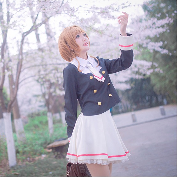 Magic Card Girl Sakura Cosplay Uniform YC20156