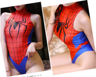 Superhero Spiderman Cosplay Swimsuit YC20160