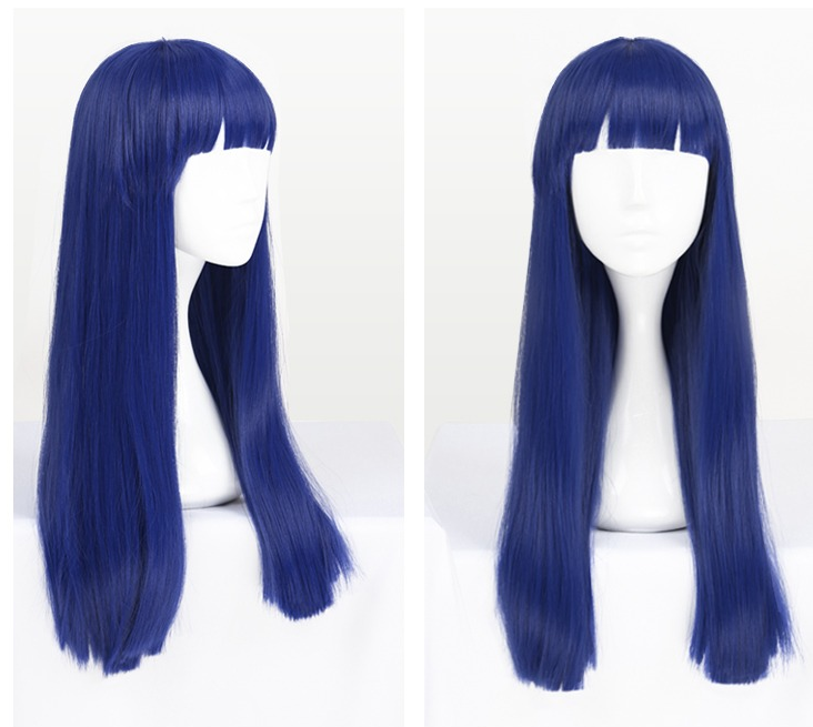 Japanese golden double ponytail cos wig YC20171