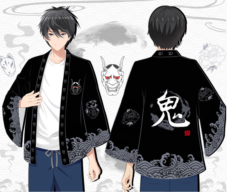 Hundred Ghost Night Japanese COS Kimono YC20180